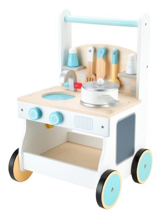 Dřevěná kuchyňka pro děti