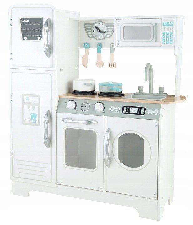 Velká dřevěná kuchyňka pro děti bílá