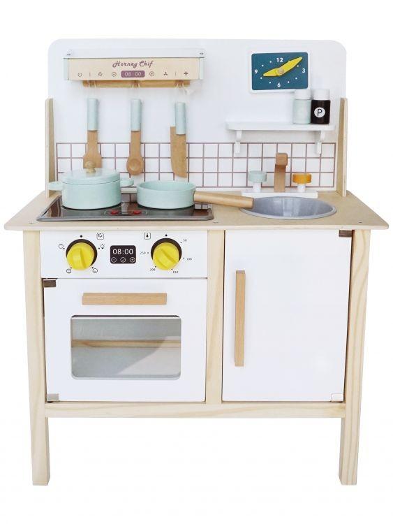 Dřevěná kuchyňka pro děti EcoToys Breggo