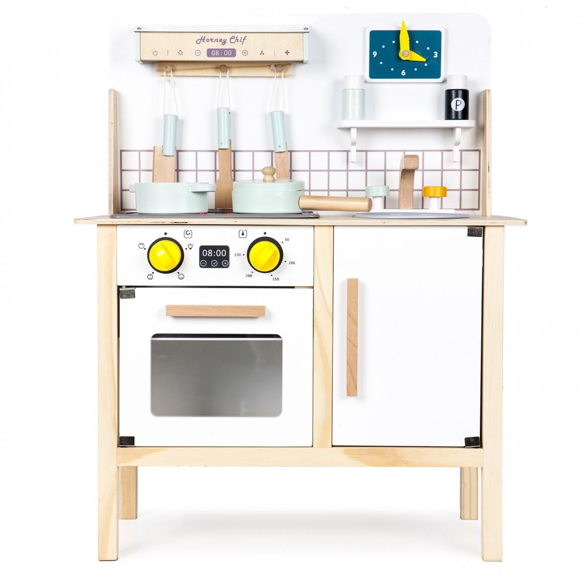 Drevená kuchynka pre deti EcoToys Breggo