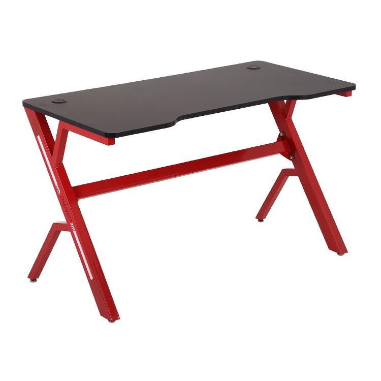 Herní stůl Harry ModernHome 120 cm černý/červený