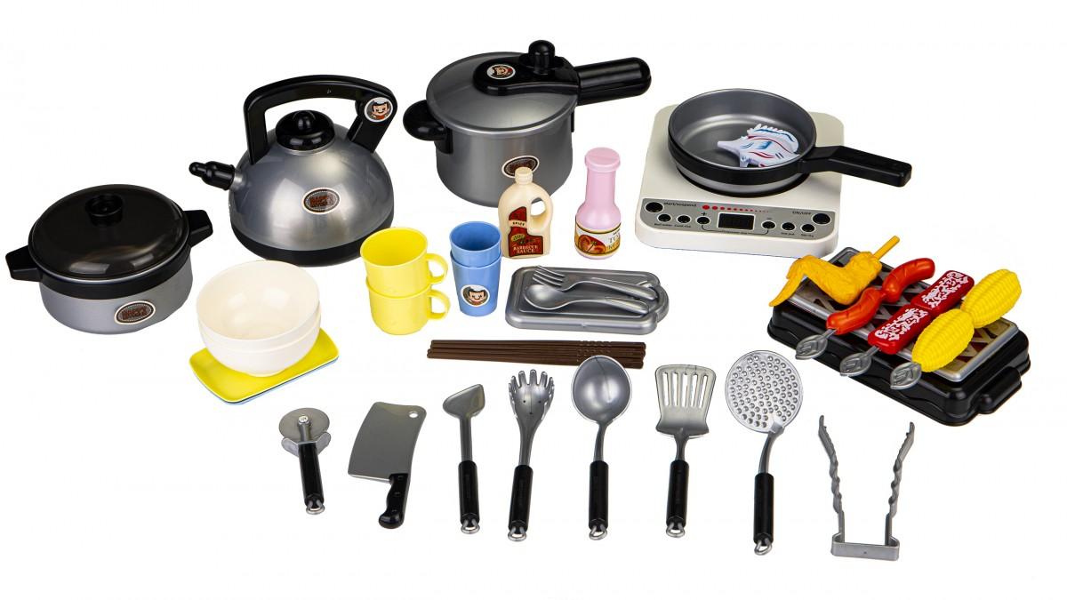 Plastová súprava na grilovanie a varenie + príslušenstvo