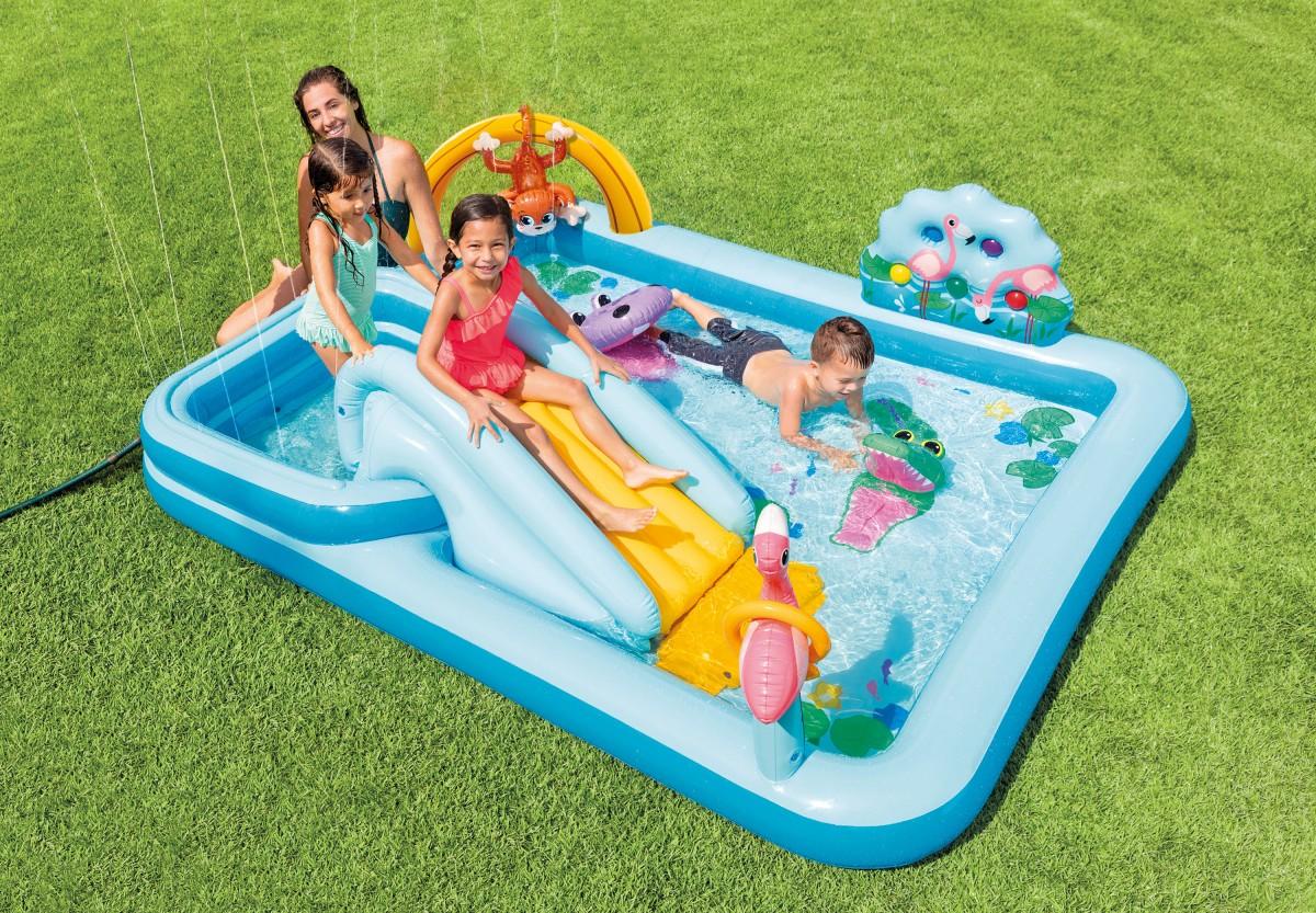Nafukovací bazén Jungle Adventure Intex 57161 modrý