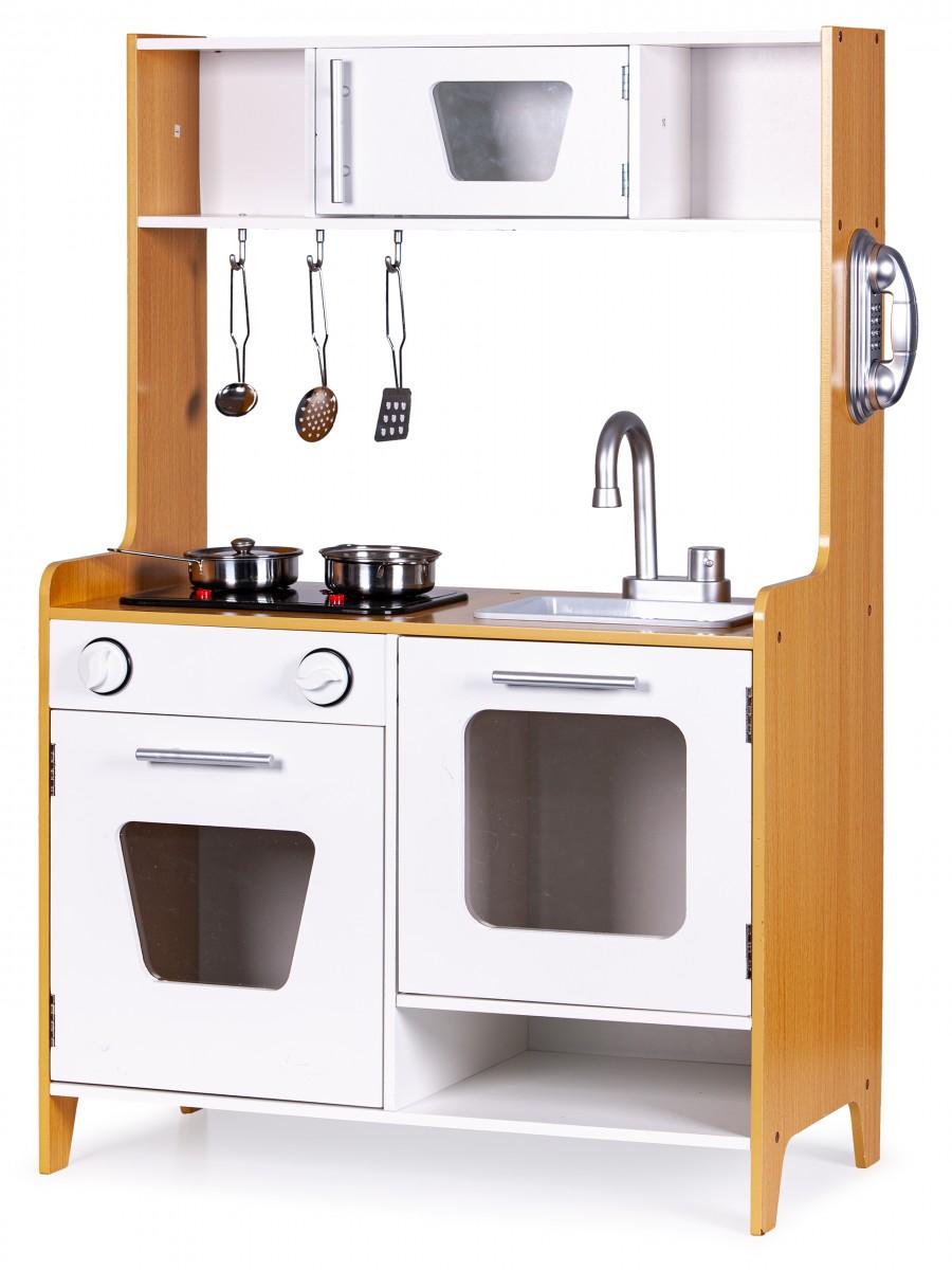 Drevená kuchynka pre deti ECOTOYS