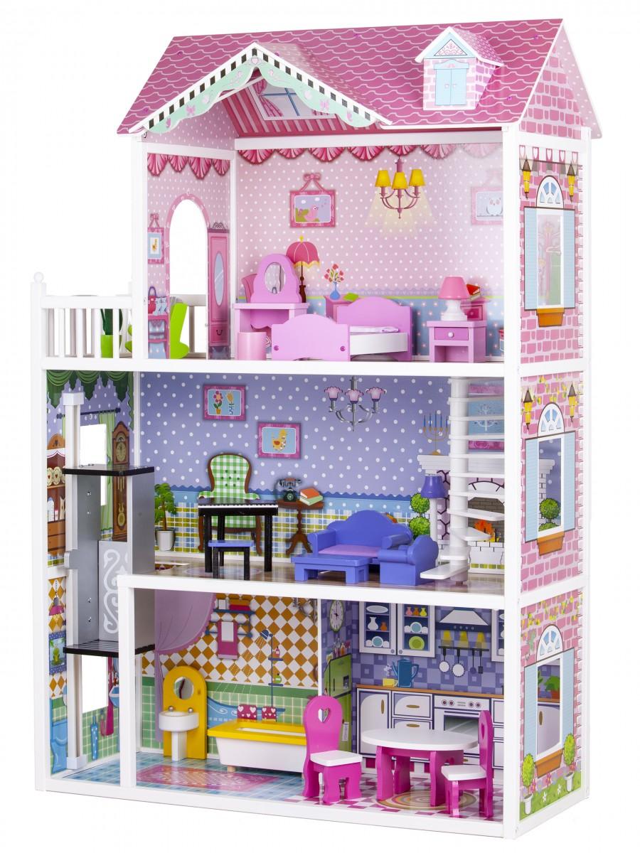 Domeček pro panenky Barbie s výtahem Miami