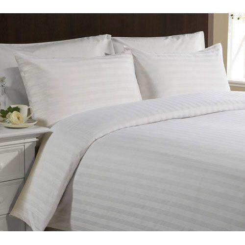 Hotelové povlečení z bavlněného damašku 140x200 cm + 2 povlaky na polštáře