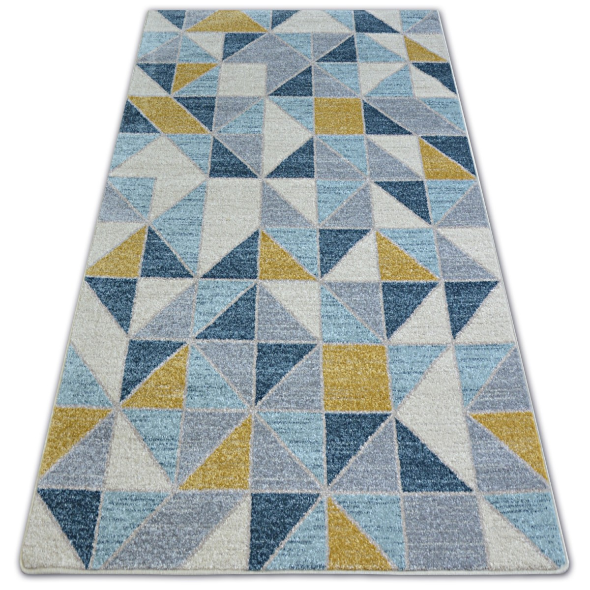 Kusový koberec NORDIC žltý G4586