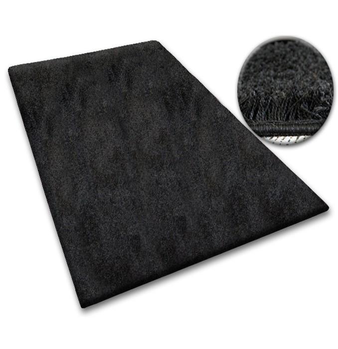 Kusový koberec SHAGGY Izebelie 5 cm čierny