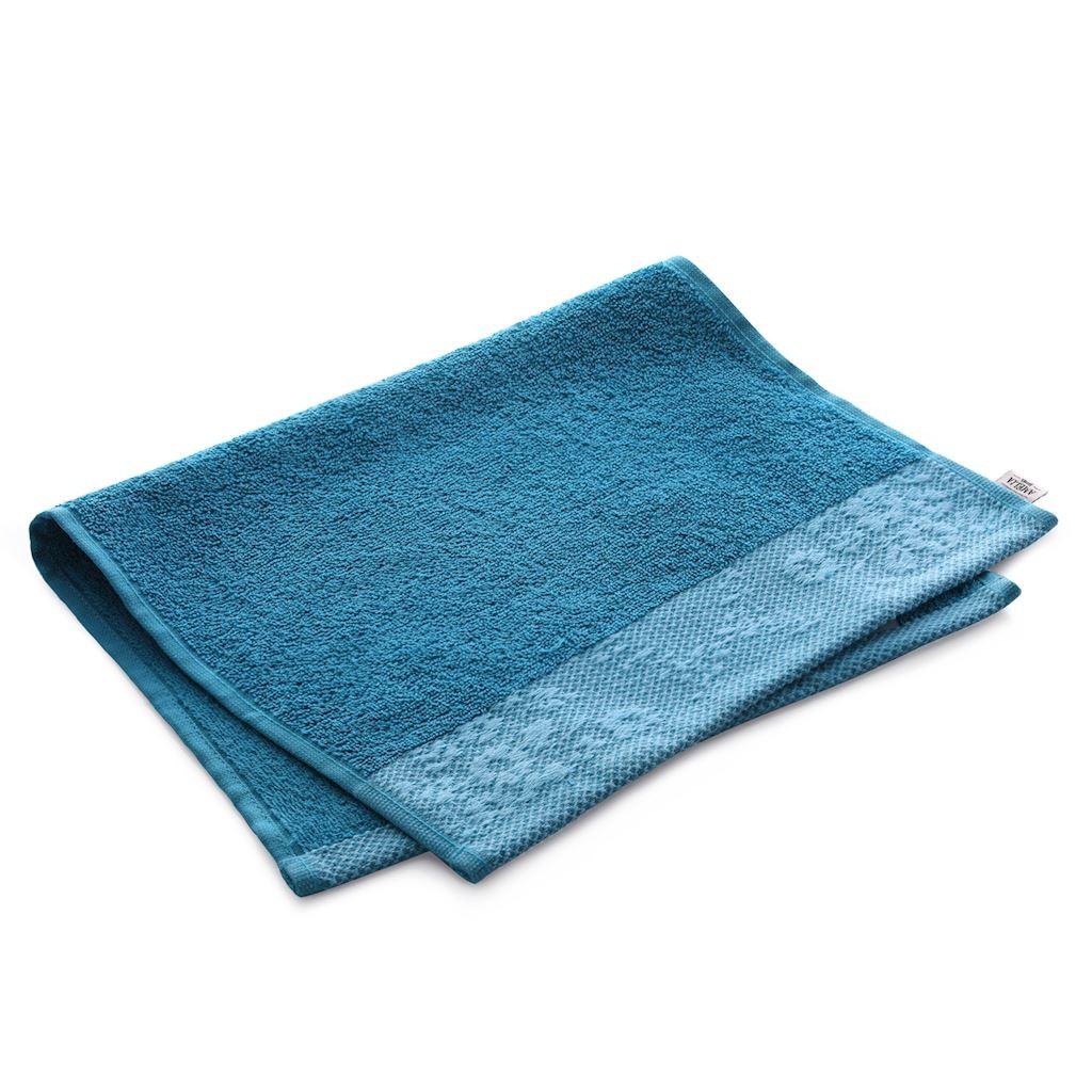 Bavlnený uterák AmeliaHome Crea 30 x 50 cm modrý/morský