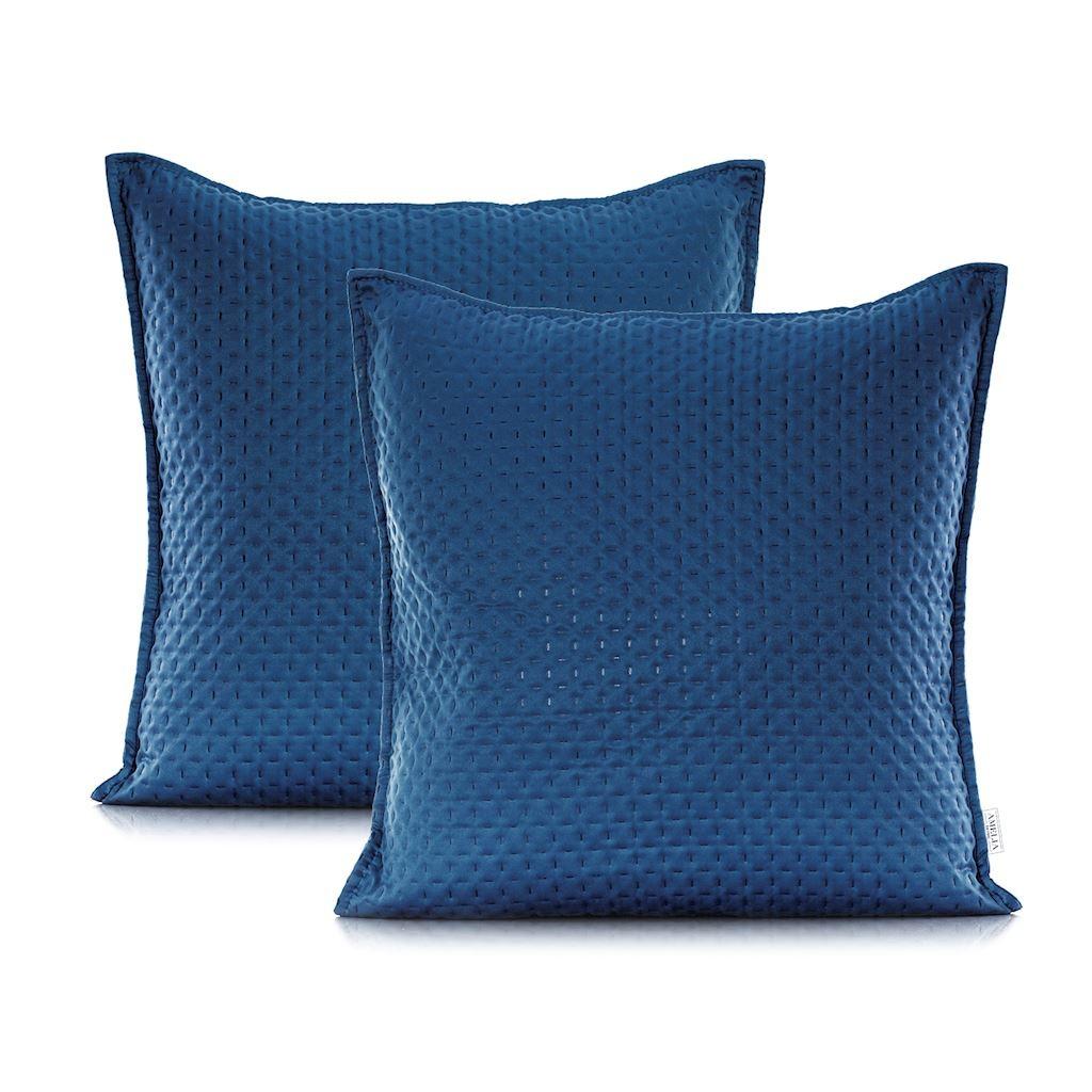 Povlaky na polštáře AmeliaHome Carmen tmavě modré