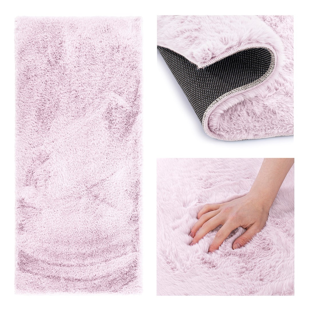 Kusový koberec AmeliaHome Lovika I šeříkový