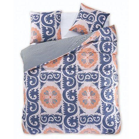Bavlnené obliečky DecoKing Diamond Marocco + 2 obliečky na vankúše