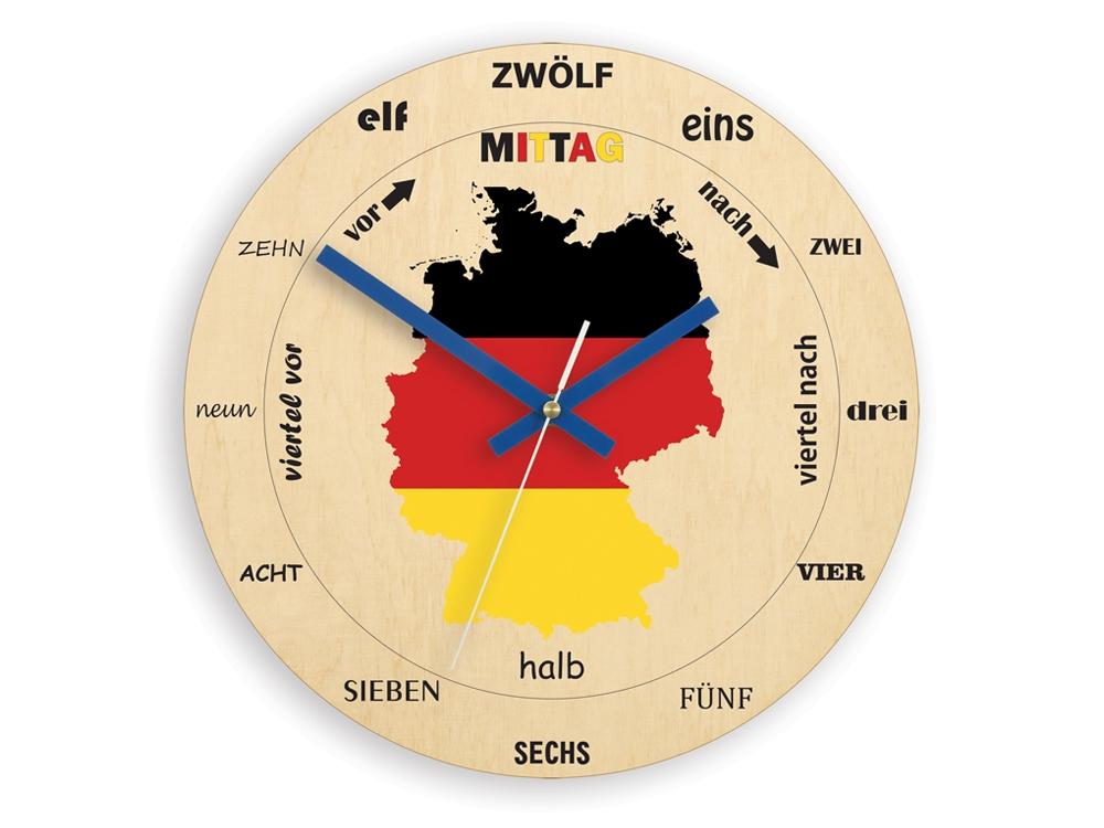 Nástěnné hodiny Germany hnědé
