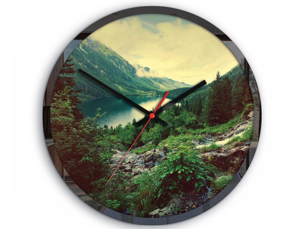 Nástenné hodiny Panorama farebné