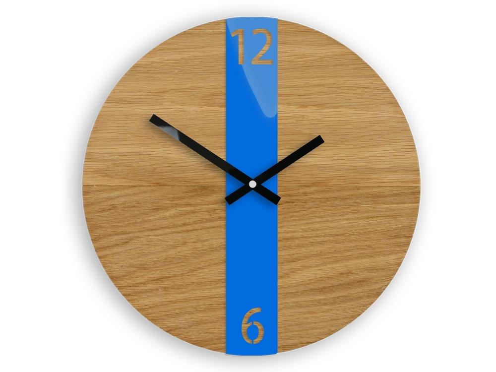 Nástěnné hodiny Oak hnědé
