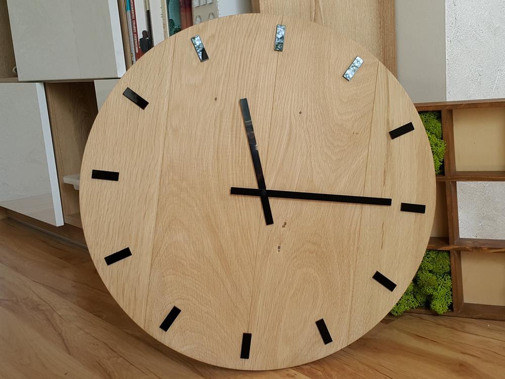 Nástěnné hodiny Black Oak hnědé