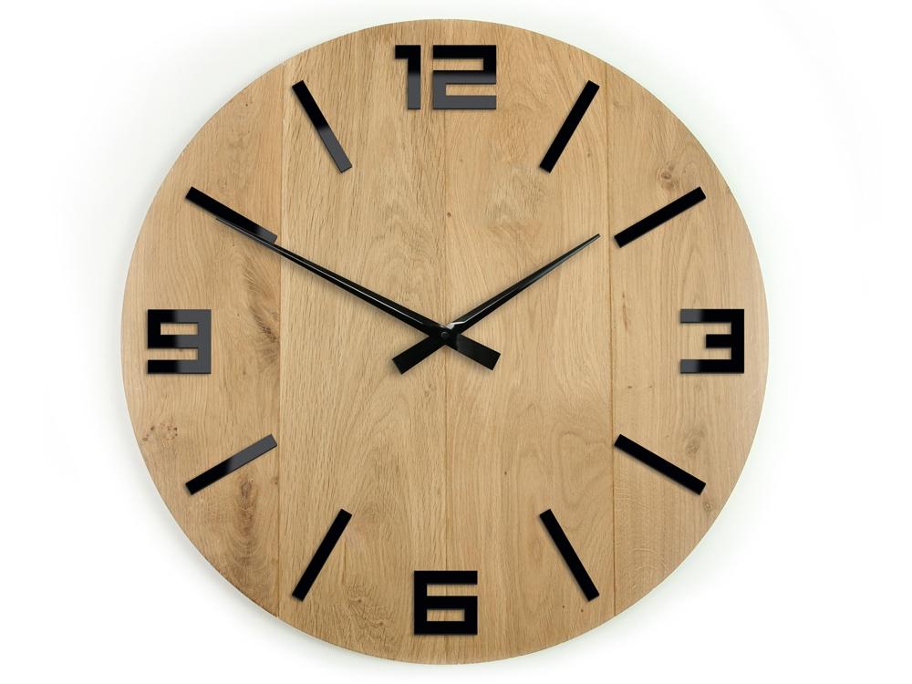 Nástěnné hodiny Arabic hnědé
