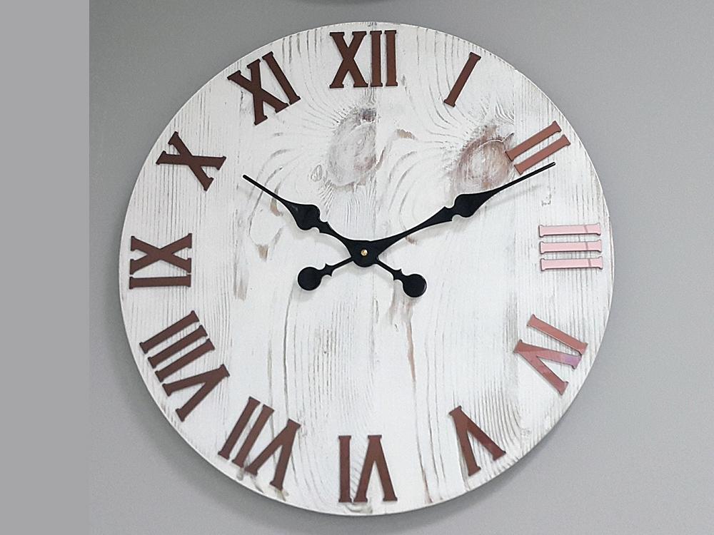 Nástěnné hodiny Denny hnědé