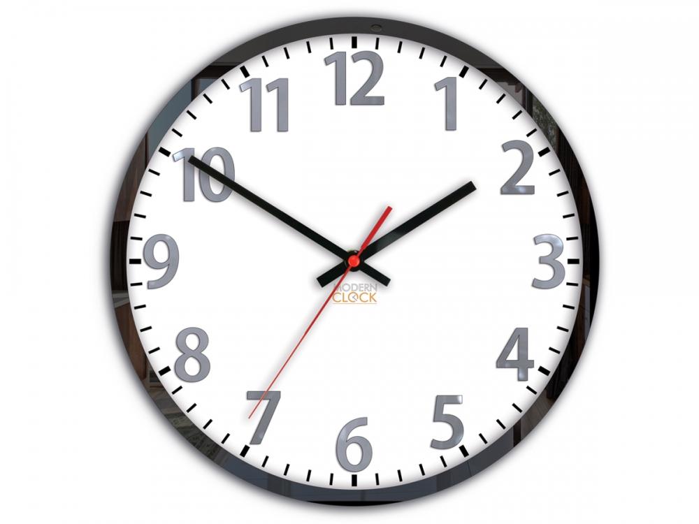Nástěnné hodiny Louis bílé