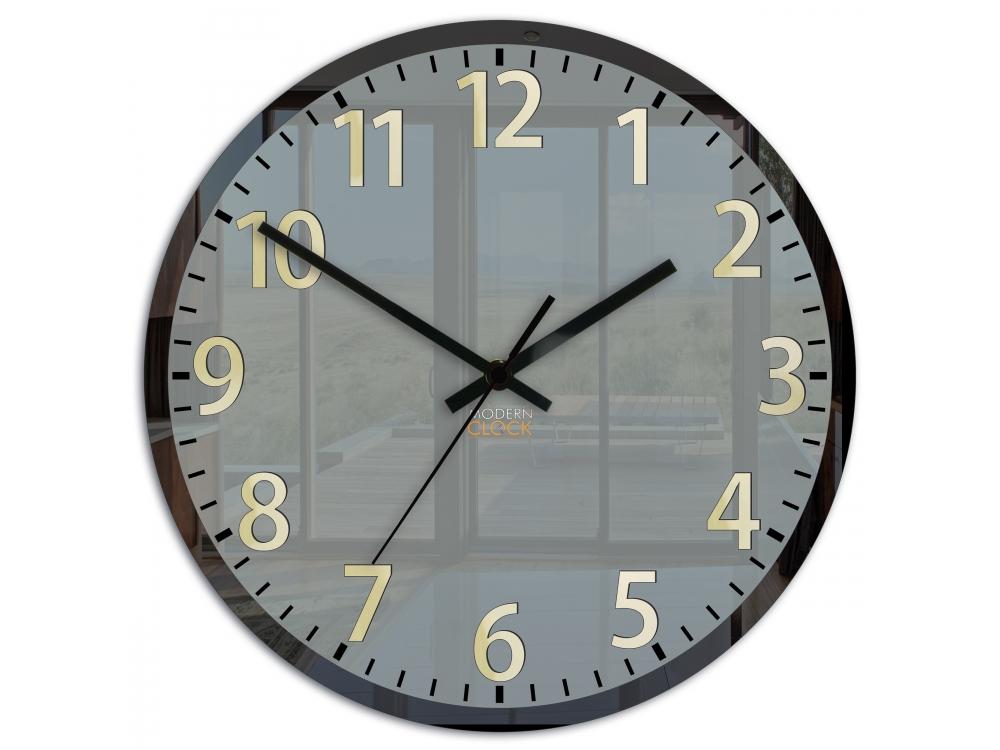 Nástěnné hodiny Phil černé
