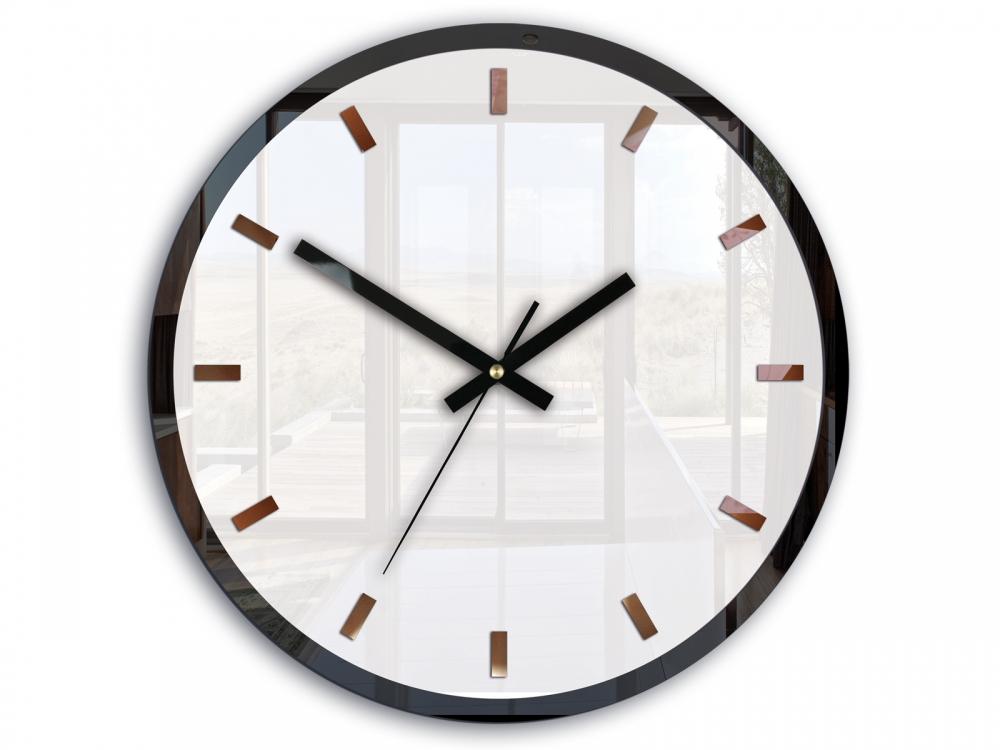 Nástěnné hodiny Rolo bílé