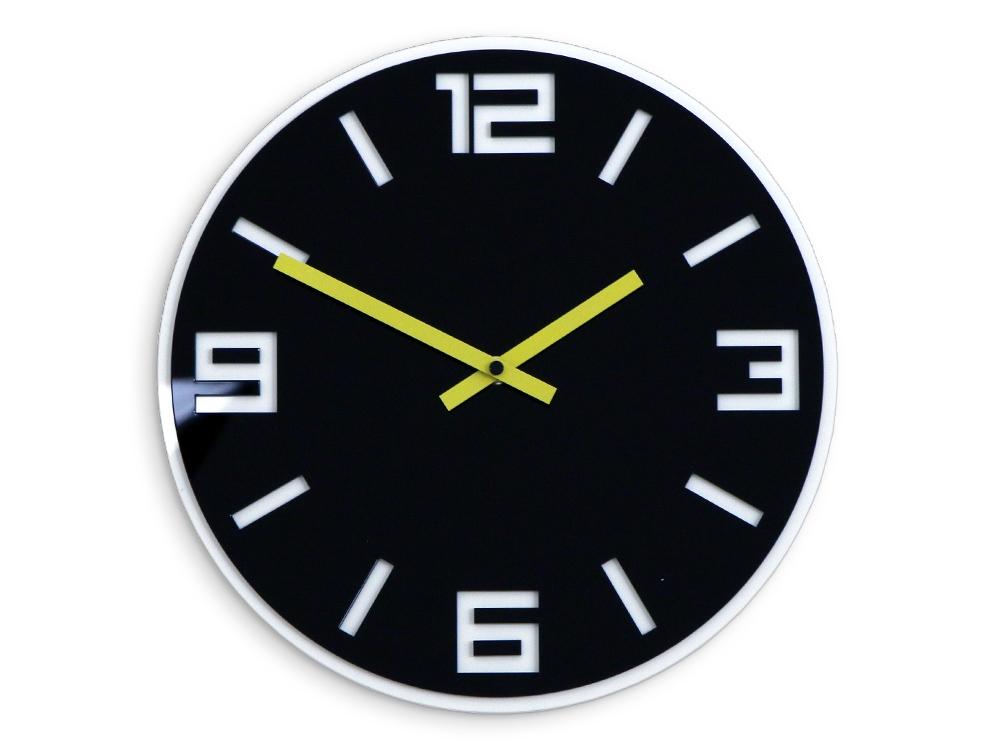Nástěnné hodiny Dixon černé